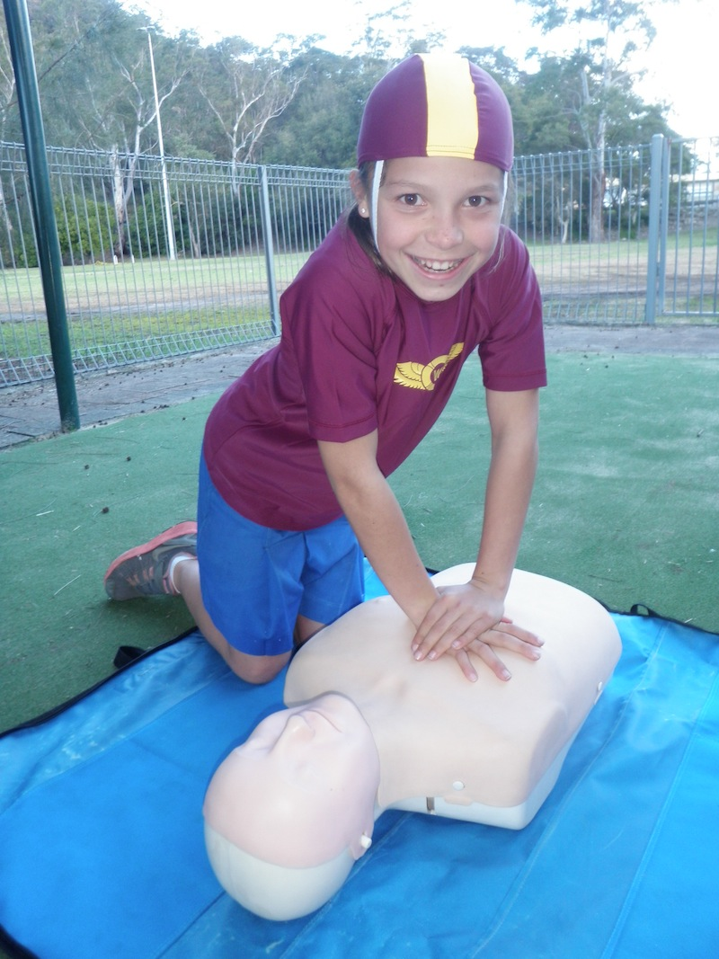 Woronora First Aid Training P8251024
