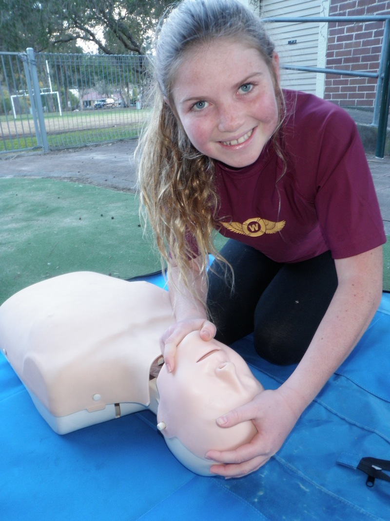 Woronora First Aid Training P8251026