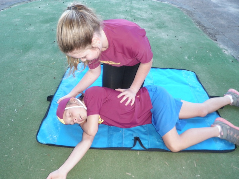 Woronora First Aid Training P8251028